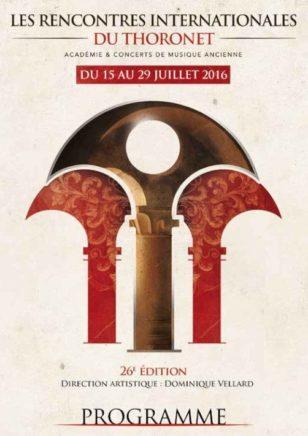 Vagarem festival Thoronet musique médiévale 2016