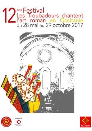festival Les troubadours chantent l'art roman 2017